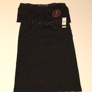 XOXO-Camisole & Boy Short Set-Embellished-Size LRG